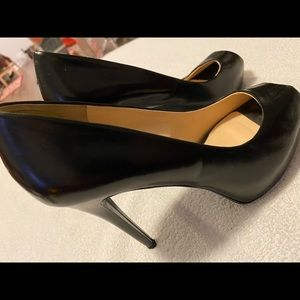 Brand New (Floor Model) Leather Heels By GUESS